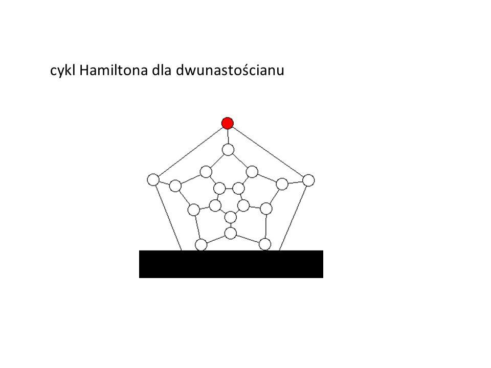 cykl Hamiltona dla dwunastościanu