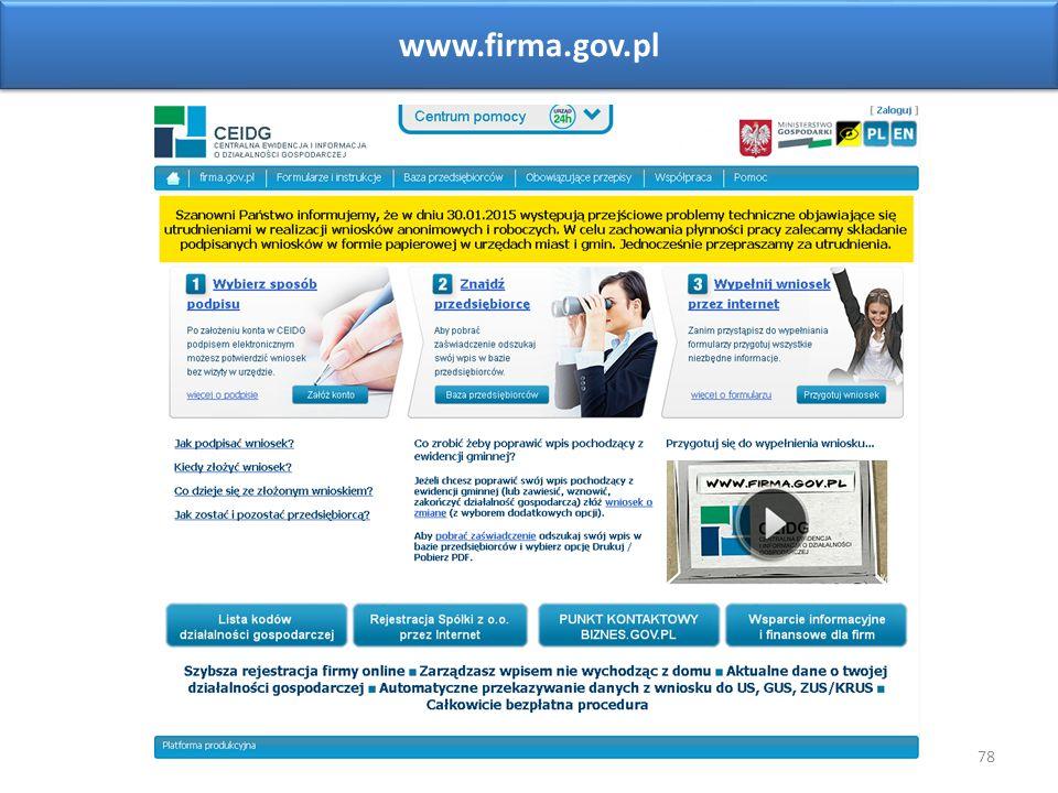 78 www.firma.gov.pl