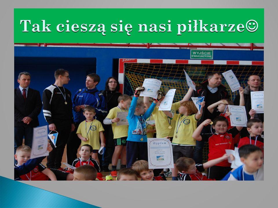 Tak cieszą się nasi piłkarze Tak cieszą się nasi piłkarze