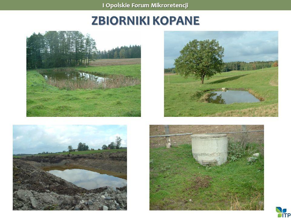 ZBIORNIKI KOPANE I Opolskie Forum Mikroretencji