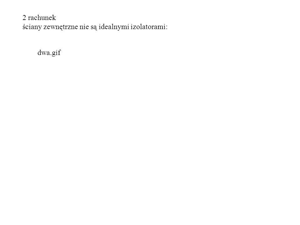 2 rachunek ściany zewnętrzne nie są idealnymi izolatorami: dwa.gif