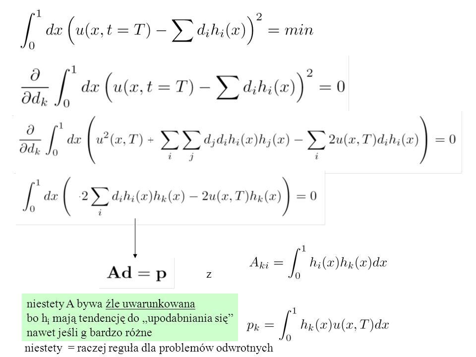 """z niestety A bywa źle uwarunkowana bo h i mają tendencję do """"upodabniania się nawet jeśli g bardzo różne niestety = raczej reguła dla problemów odwrotnych +"""