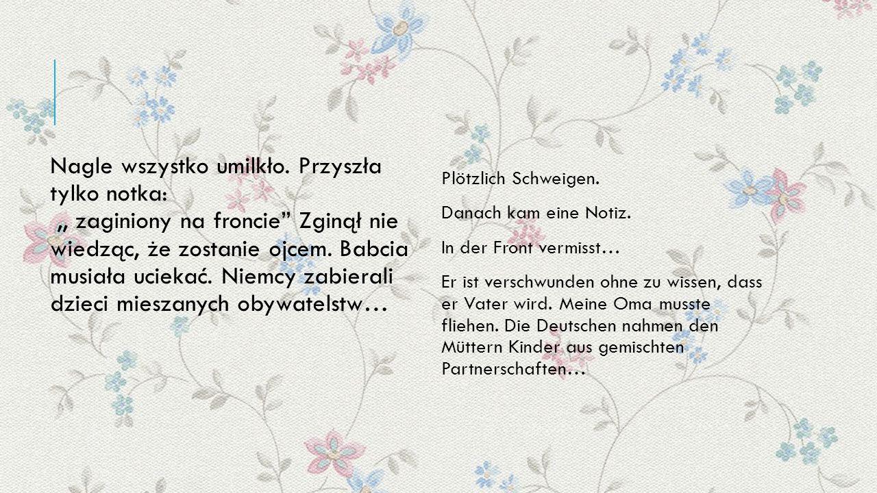 Chcąc chronić dziecko, pokonując w ciąży wiele kilometrów, przyjechała do Polski, rodzinnej miejscowości Brzeźnicy, gdzie się ukrywała.