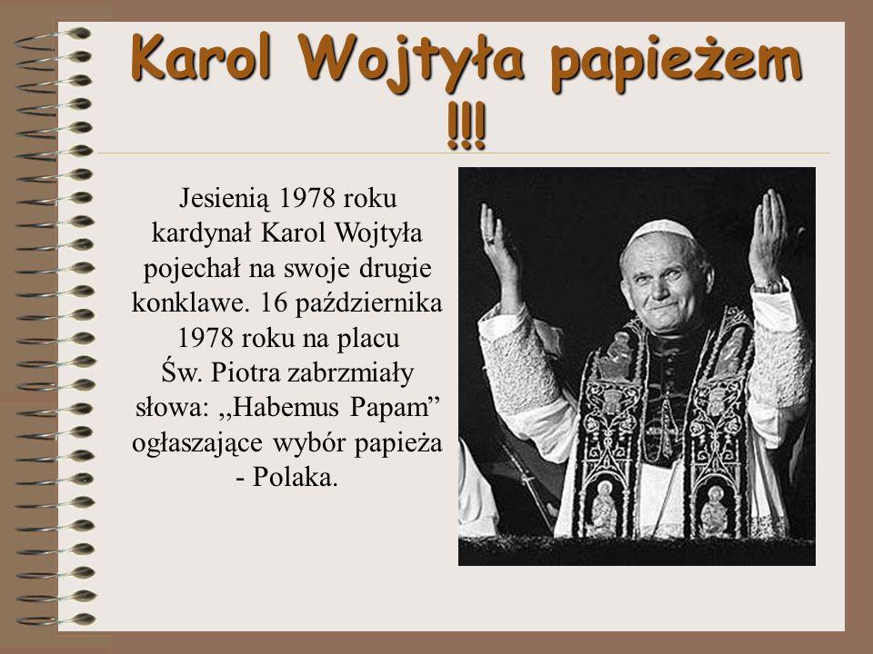 13 maja 1981r.na placu Św. Piotra dokonano zamachu na życie papieża.