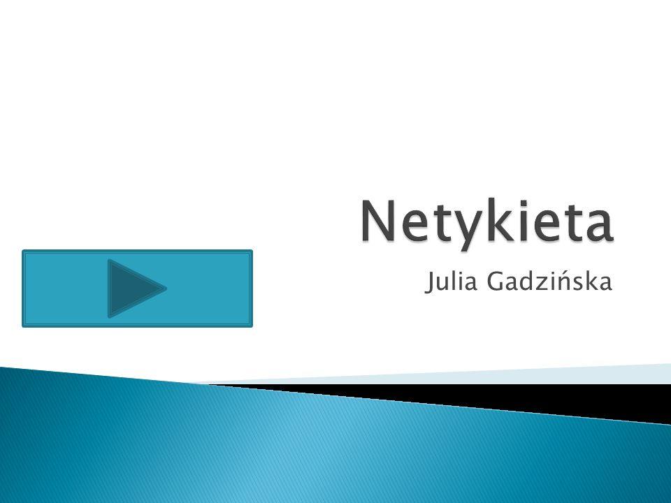 Julia Gadzińska