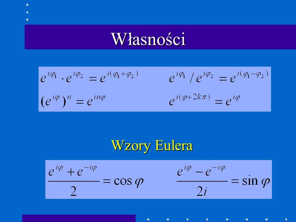 Wzory Eulera Własności