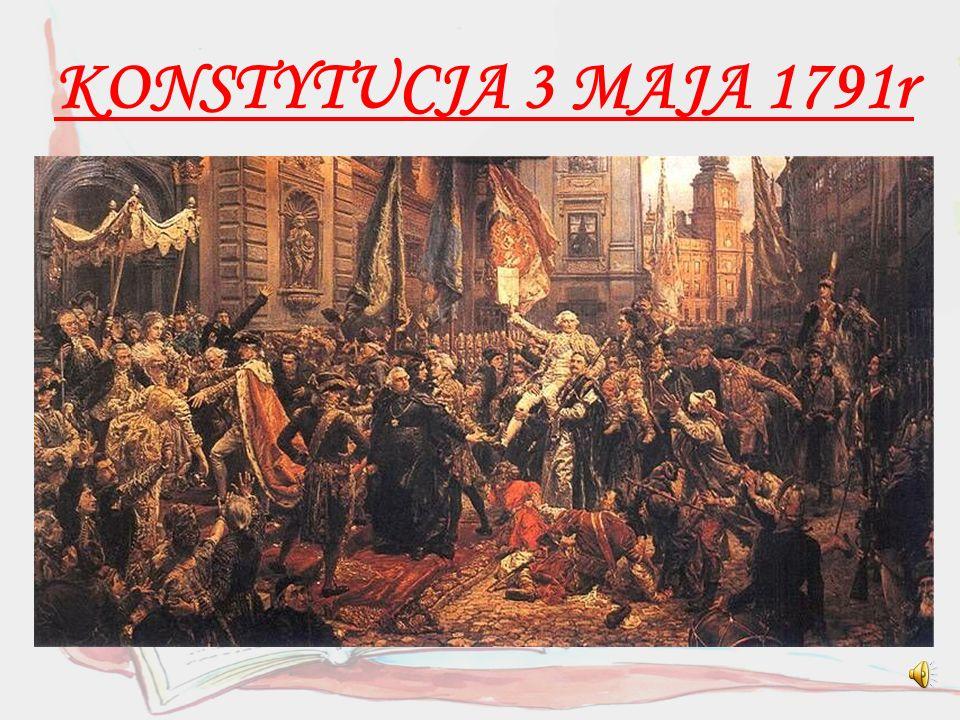 Obalenie konstytucji Konstytucja obowiązywała tylko przez rok.