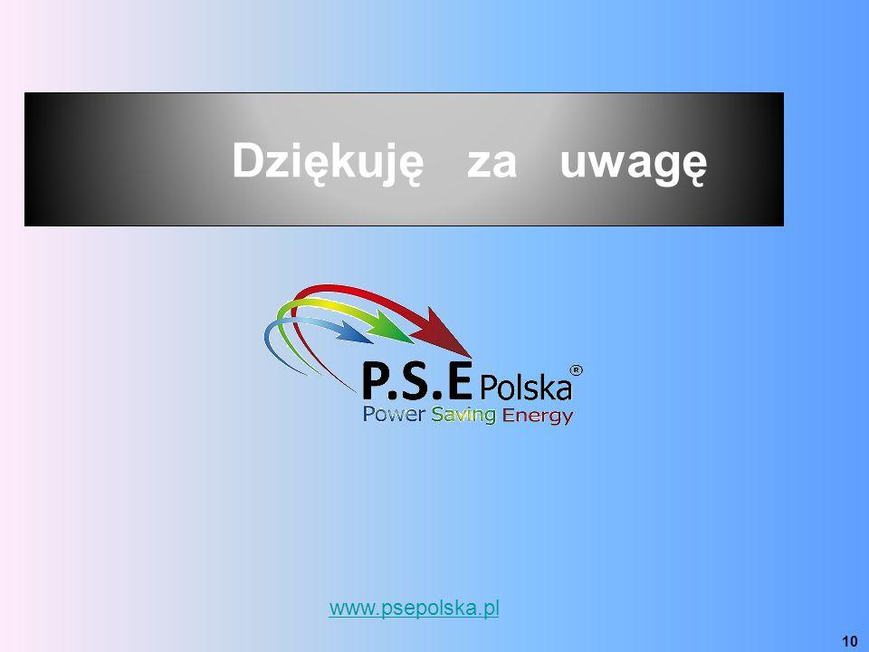www.psepolska.pl 10 Dziękuję za uwagę