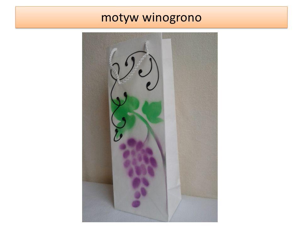 motyw winogrono