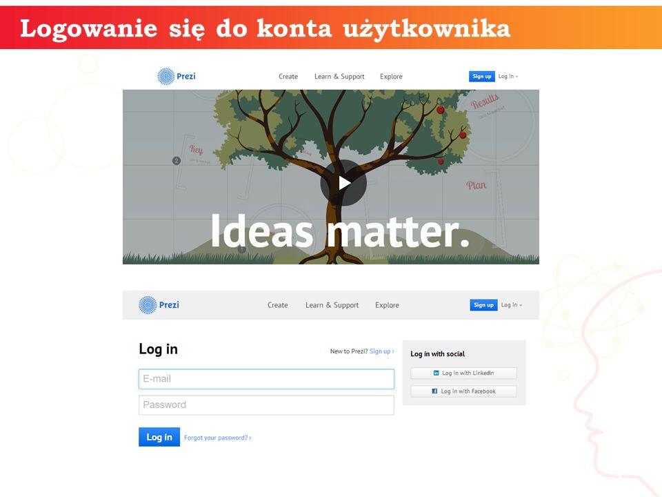 Logowanie się do konta użytkownika informatyka + 3