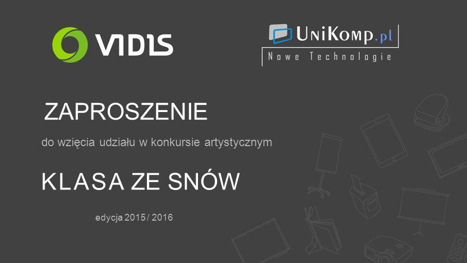 KLASA ZE SNÓW do wzięcia udziału w konkursie artystycznym edycja 2015 / 2016 ZAPROSZENIE