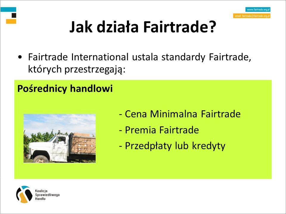 Jak działa Fairtrade.