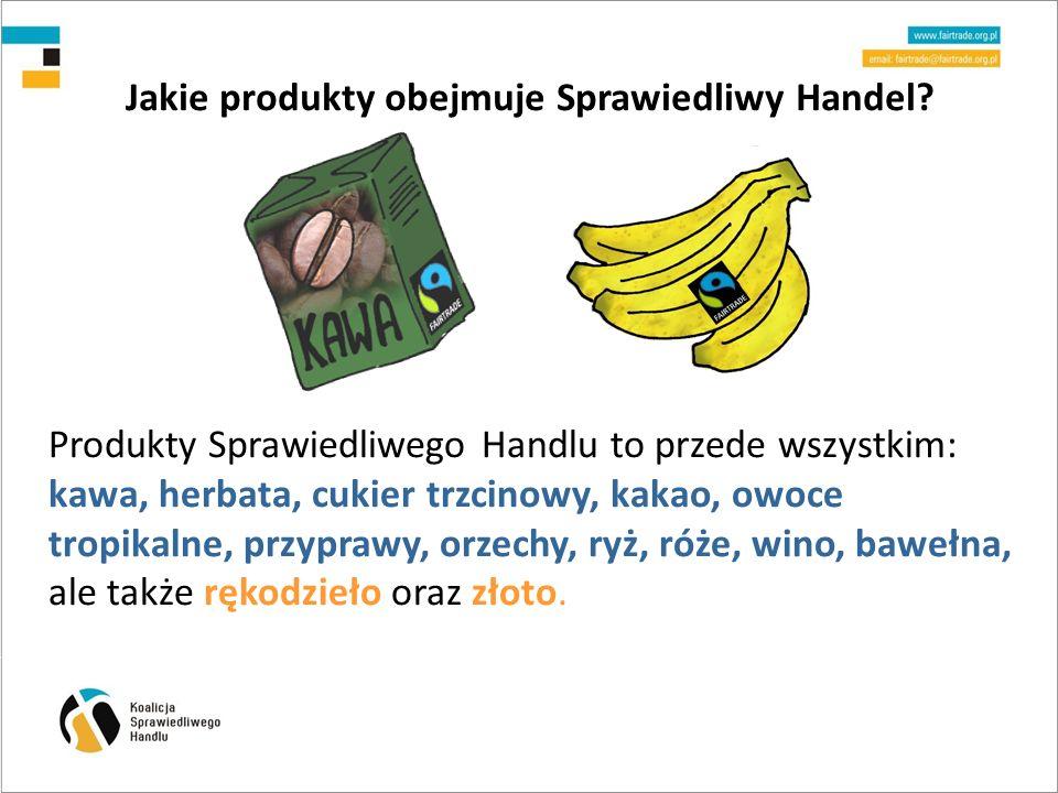 Jakie produkty obejmuje Sprawiedliwy Handel.