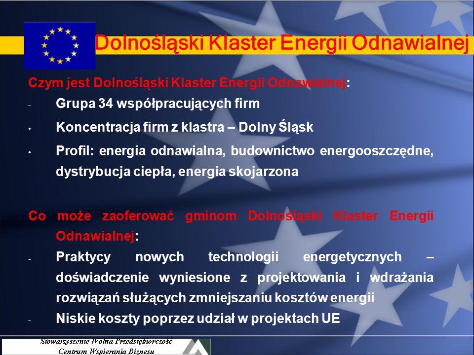 Dolnośląski Klaster Energii Odnawialnej – jak praktycy pomagają gminom oszczędzać na energii Krzysztof Brzozowski Dolnośląski Klaster Energii Odnawialnej