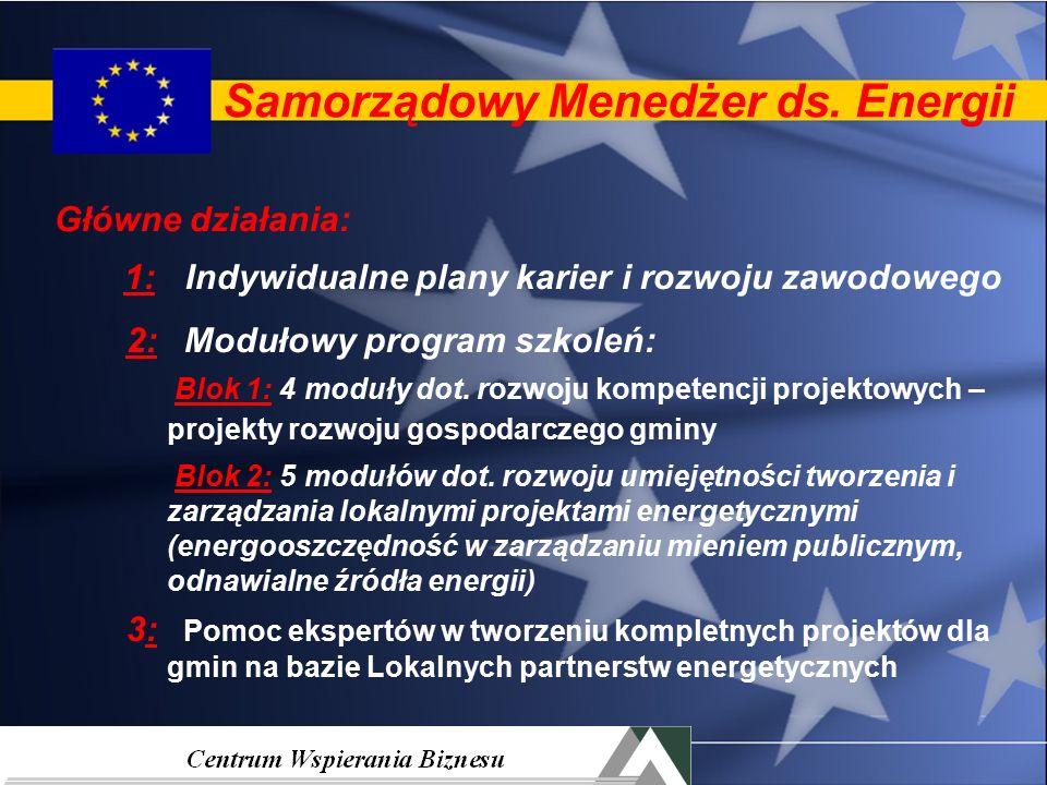 Projekty energetyczne z EOG Samorządowy Menedżer ds.