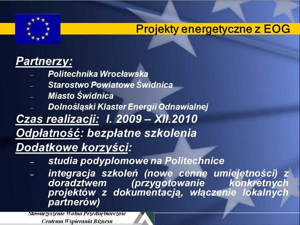 EkoGmina Główne działania: 1: Gminne strategie energet.
