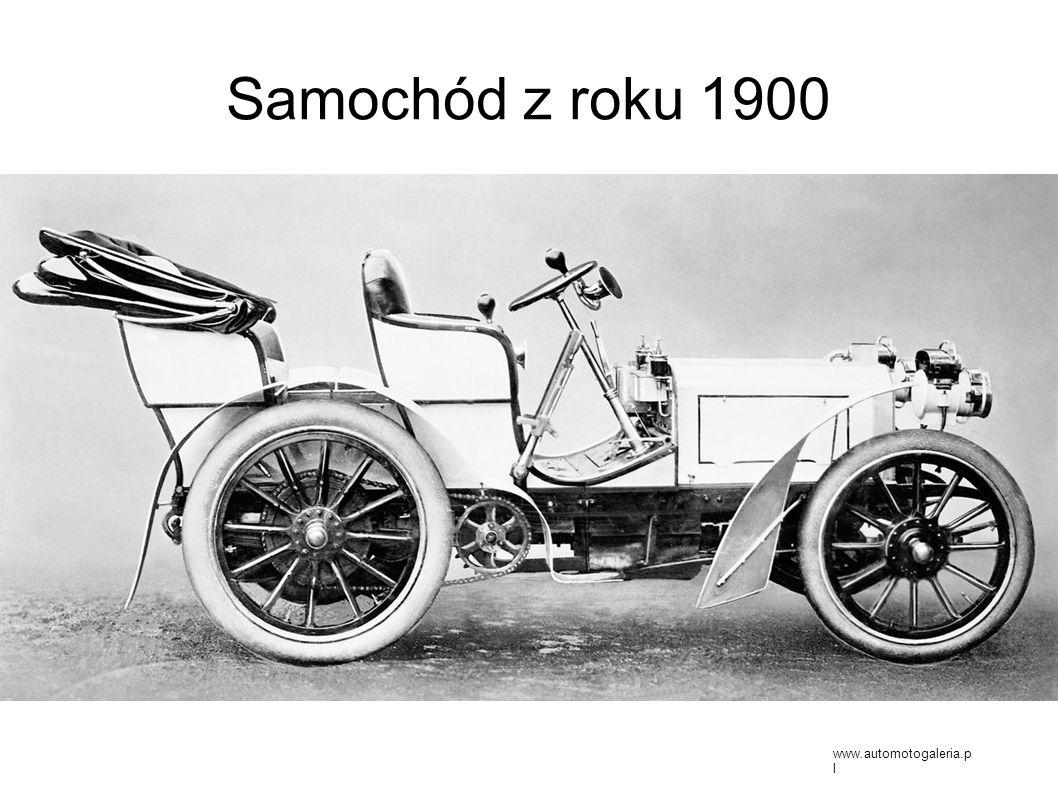Samochód z roku 1900 www.automotogaleria.p l