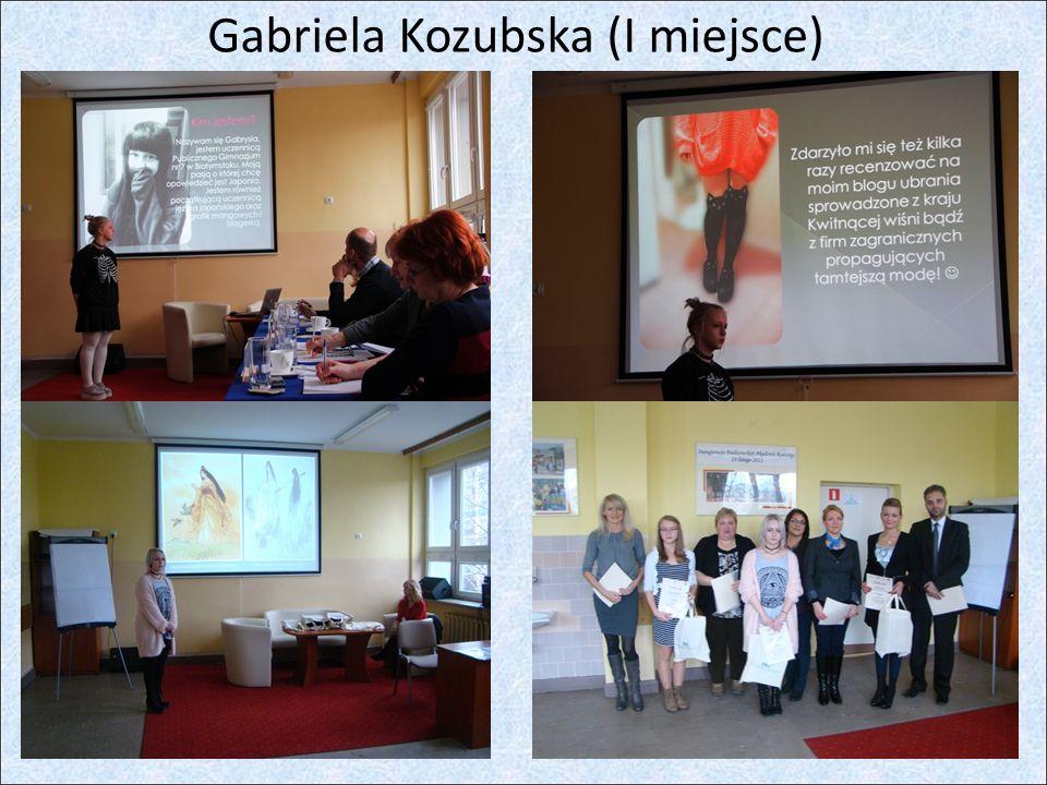 Gabriela Kozubska (I miejsce)