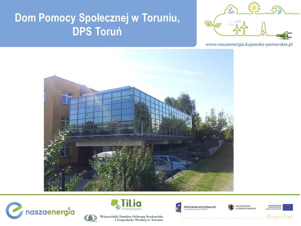 Dom Pomocy Społecznej w Toruniu, DPS Toruń
