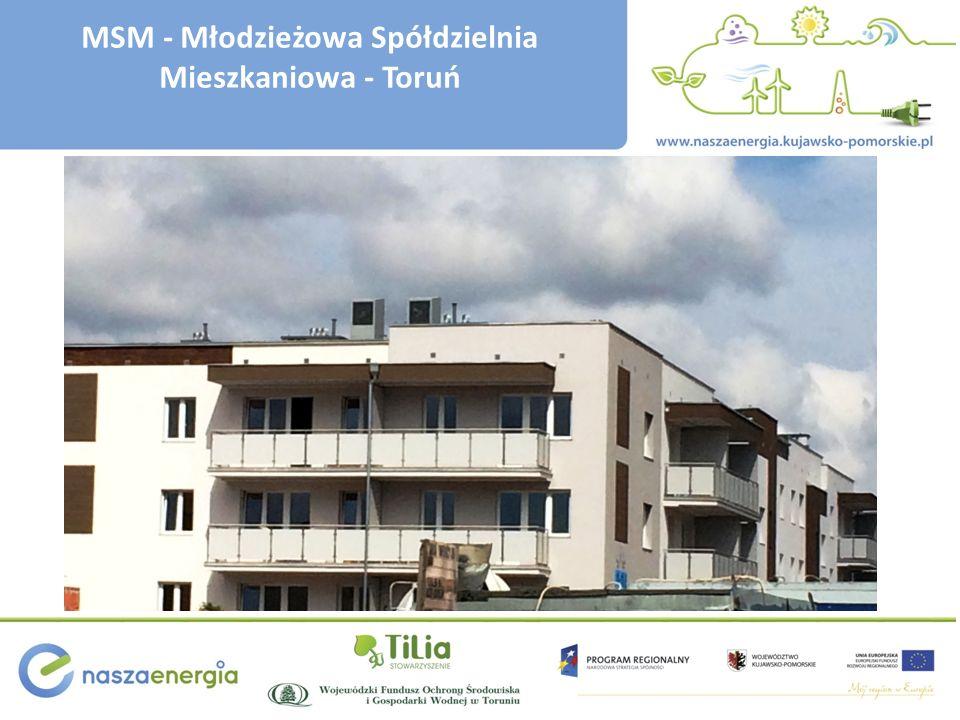 MSM - Młodzieżowa Spółdzielnia Mieszkaniowa - Toruń