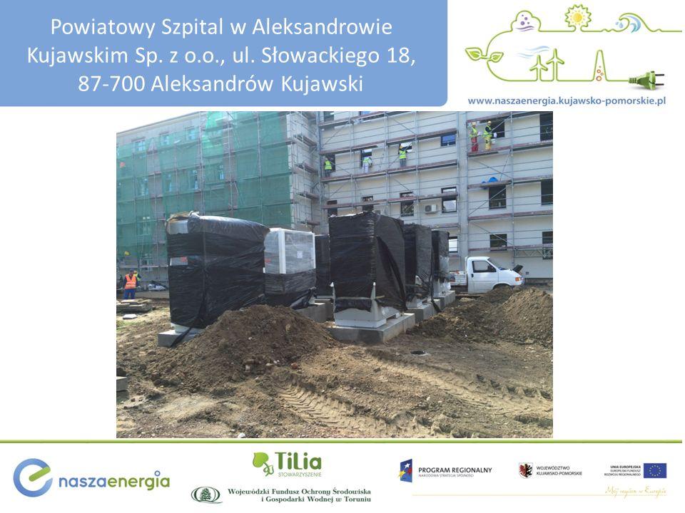 Powiatowy Szpital w Aleksandrowie Kujawskim Sp. z o.o., ul.