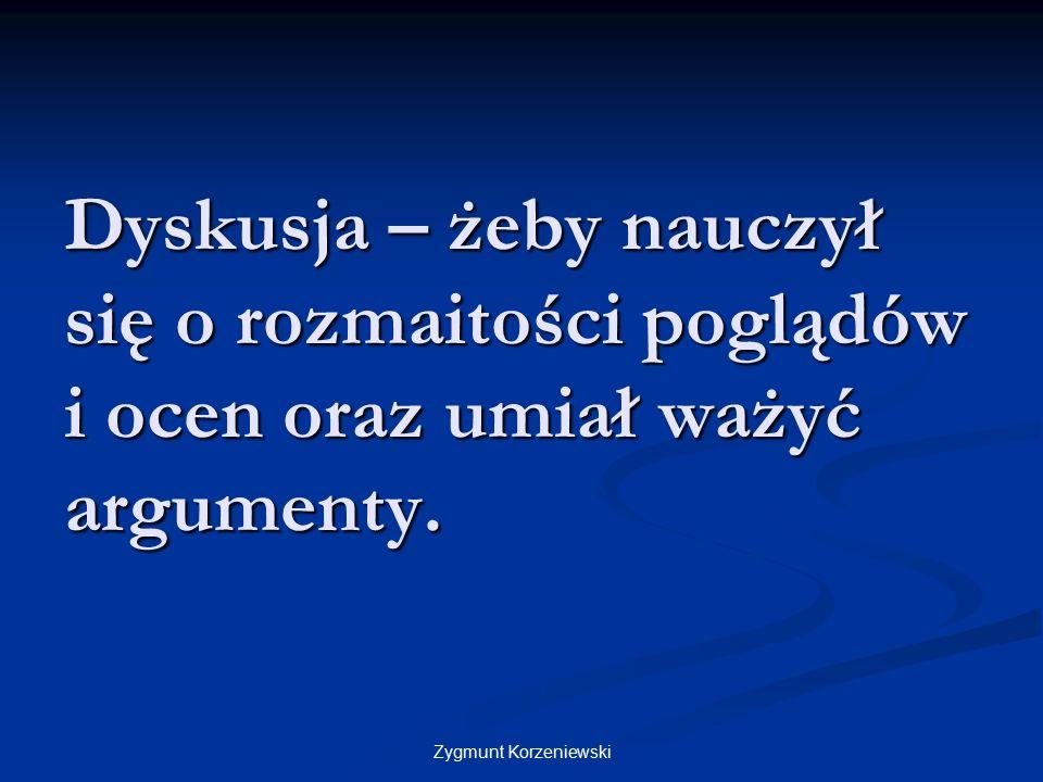 Karty dydaktyczne – żeby wiedział co/, jak / kiedy ma powiedzieć. Zygmunt Korzeniewski