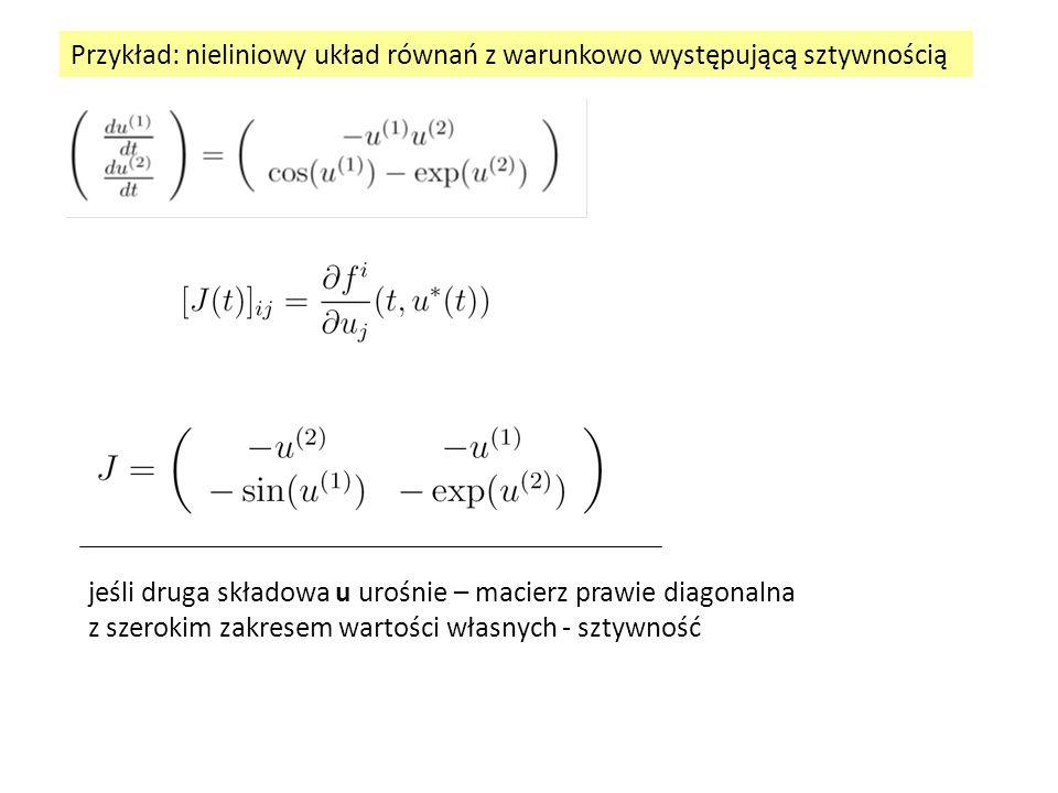 liczone w t n-1, u(t n-1 ) wstawić wyżej