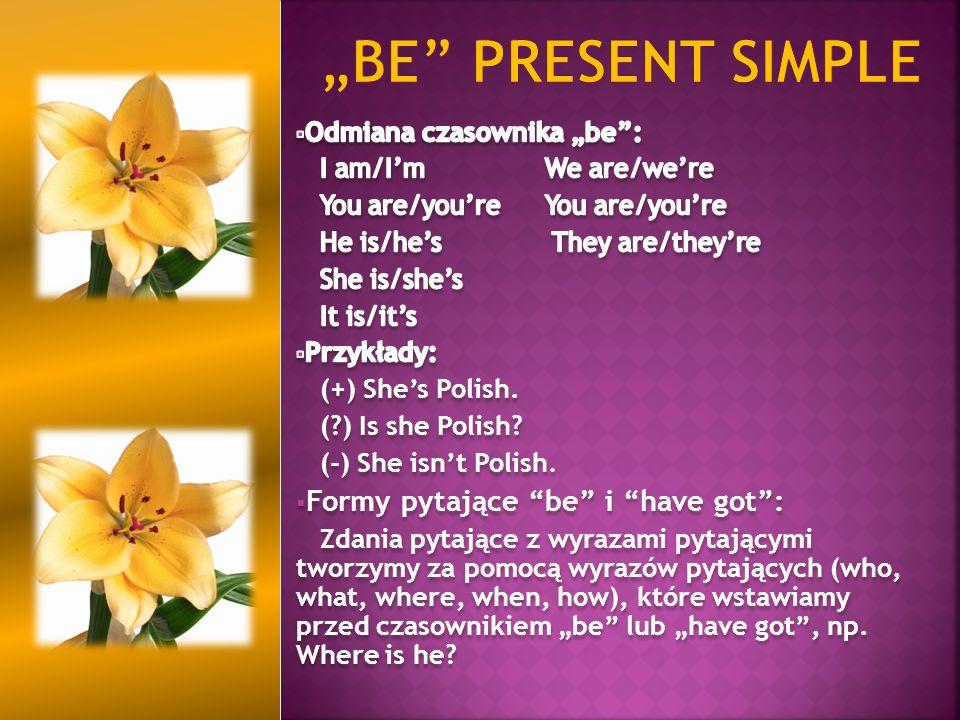 """Tworzenie: - twierdzenia: osoba + """"be + going to + czasownik w bezokoliczniku - pytania: """"be + osoba + going to + czasownik w bezokoliczniku + ."""