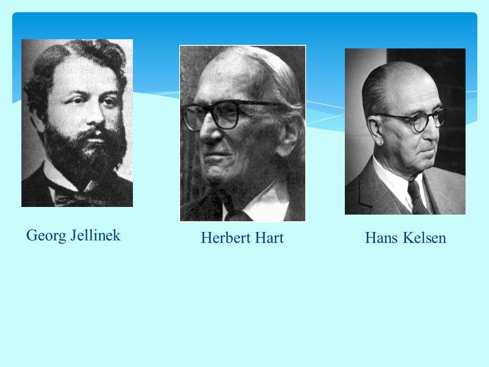Georg Jellinek Herbert HartHans Kelsen