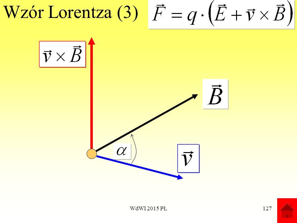 127 Wzór Lorentza (3) WdWI 2015 PŁ