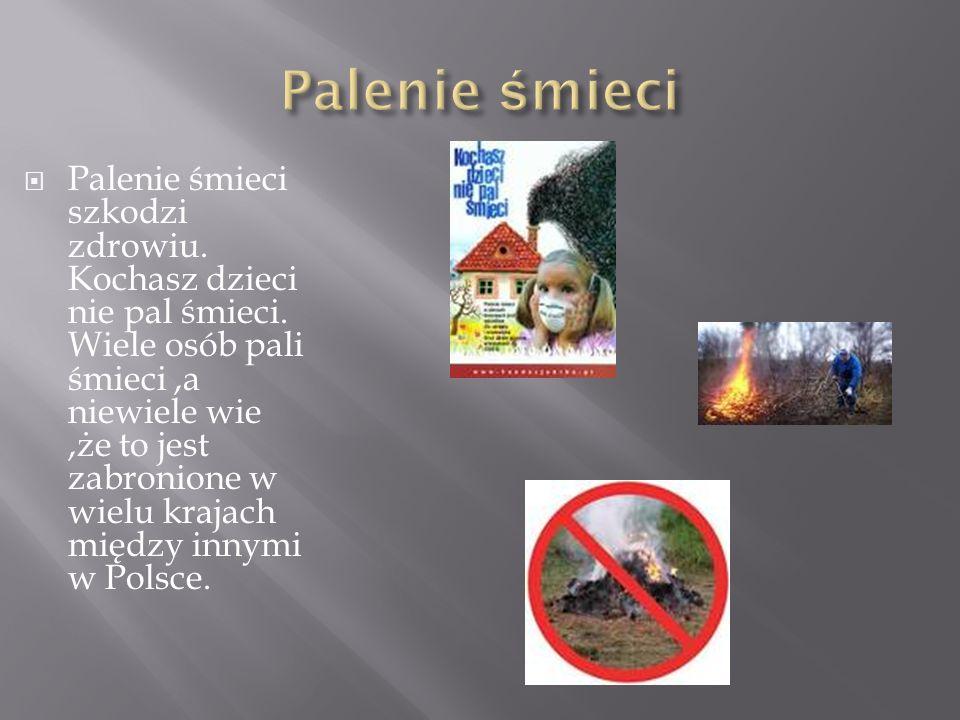  Do wielu traw podpalanych przez ludzi jest potrzebna interwencja straży pożarnej,a niektóre w ogóle nie są zauważone.