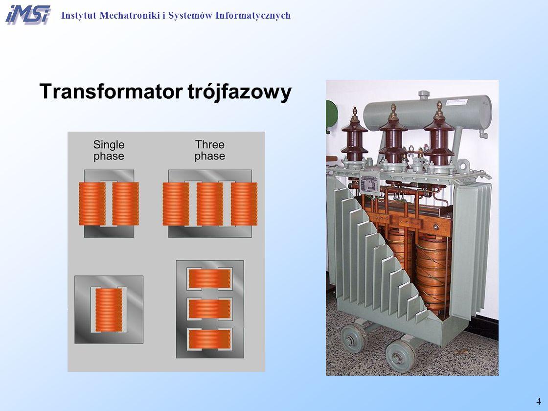 """15 Transformator Schemat zastępczy typu """"T Instytut Mechatroniki i Systemów Informatycznych"""