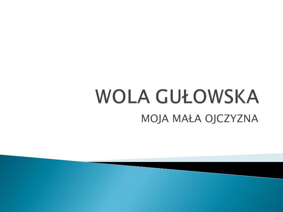 Wola Gułowska – wieś w Polsce w województwie lubelskim, w powiecie łukowskim, w gminie Adamów.