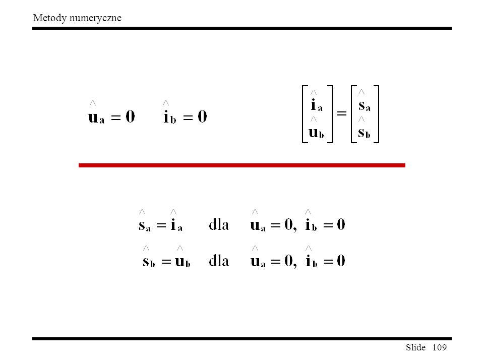 Slide 109 Metody numeryczne