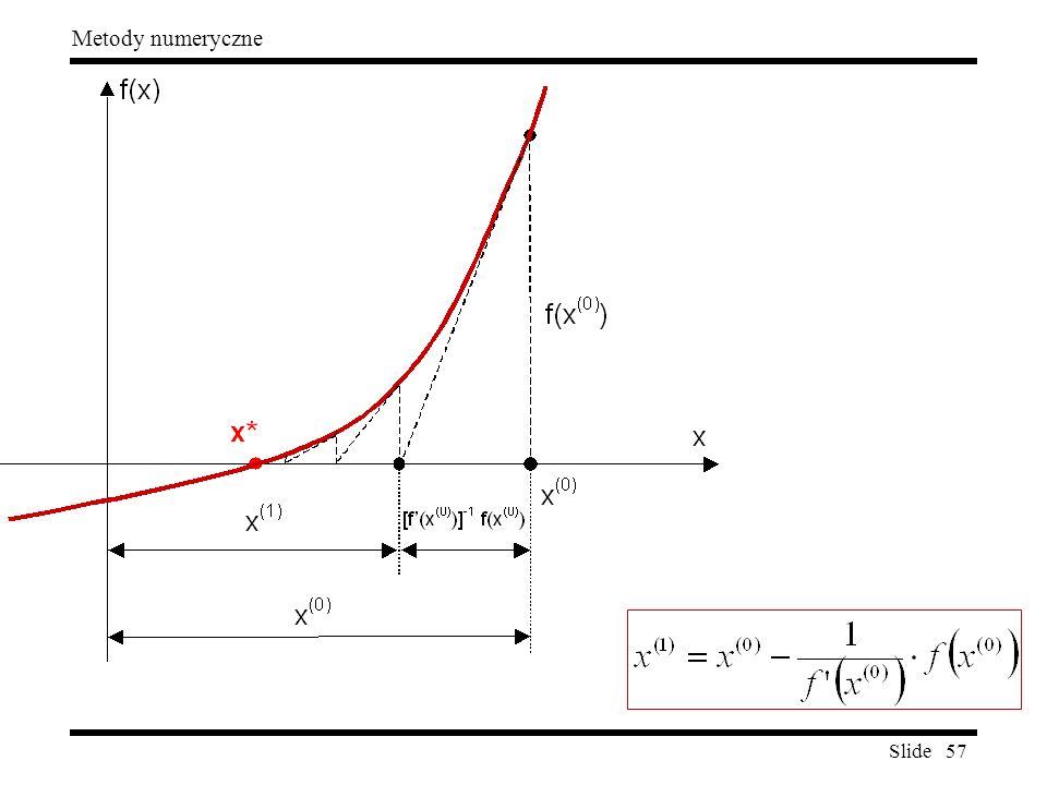Slide 57 Metody numeryczne
