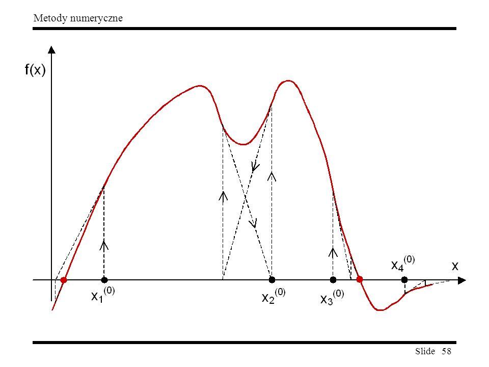 Slide 58 Metody numeryczne