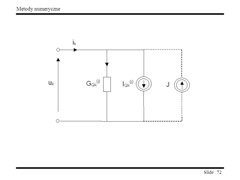 Slide 72 Metody numeryczne