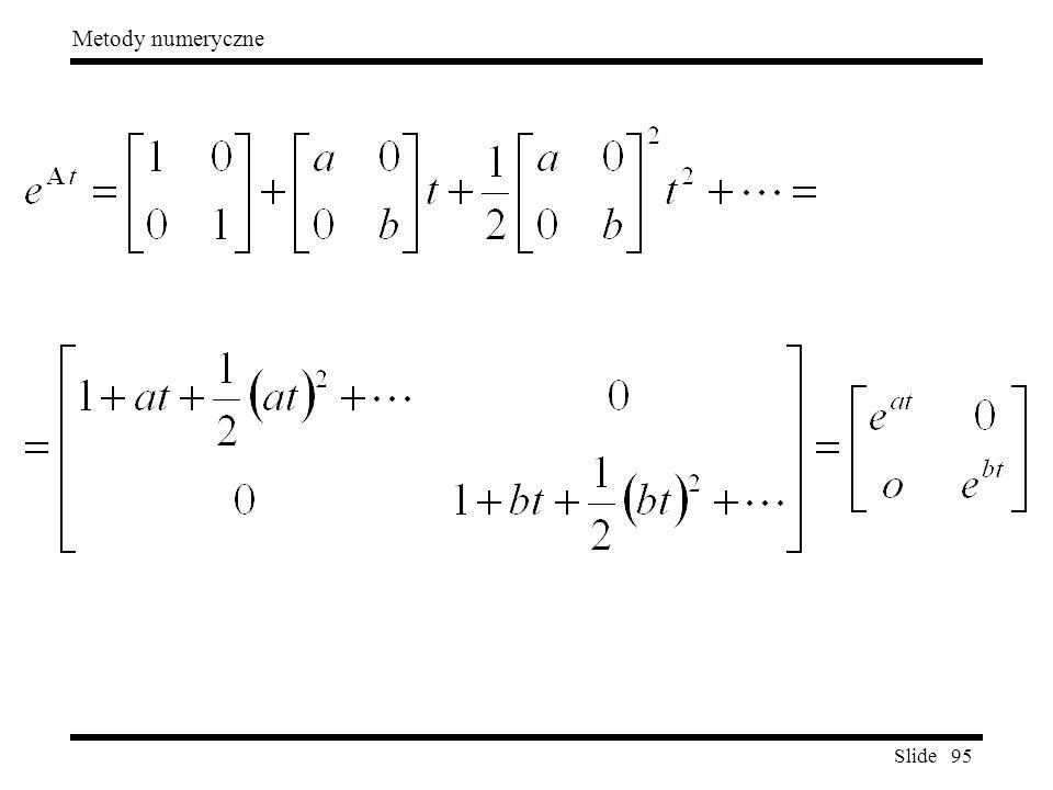 Slide 95 Metody numeryczne