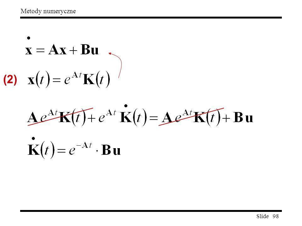 Slide 98 Metody numeryczne (2)