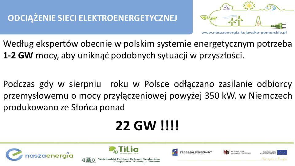 Według ekspertów obecnie w polskim systemie energetycznym potrzeba 1-2 GW mocy, aby uniknąć podobnych sytuacji w przyszłości. Podczas gdy w sierpniu r