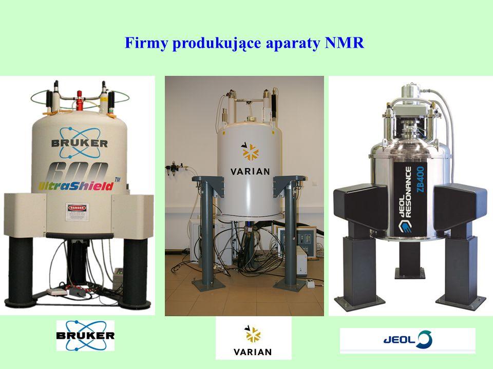 Firmy produkujące aparaty NMR