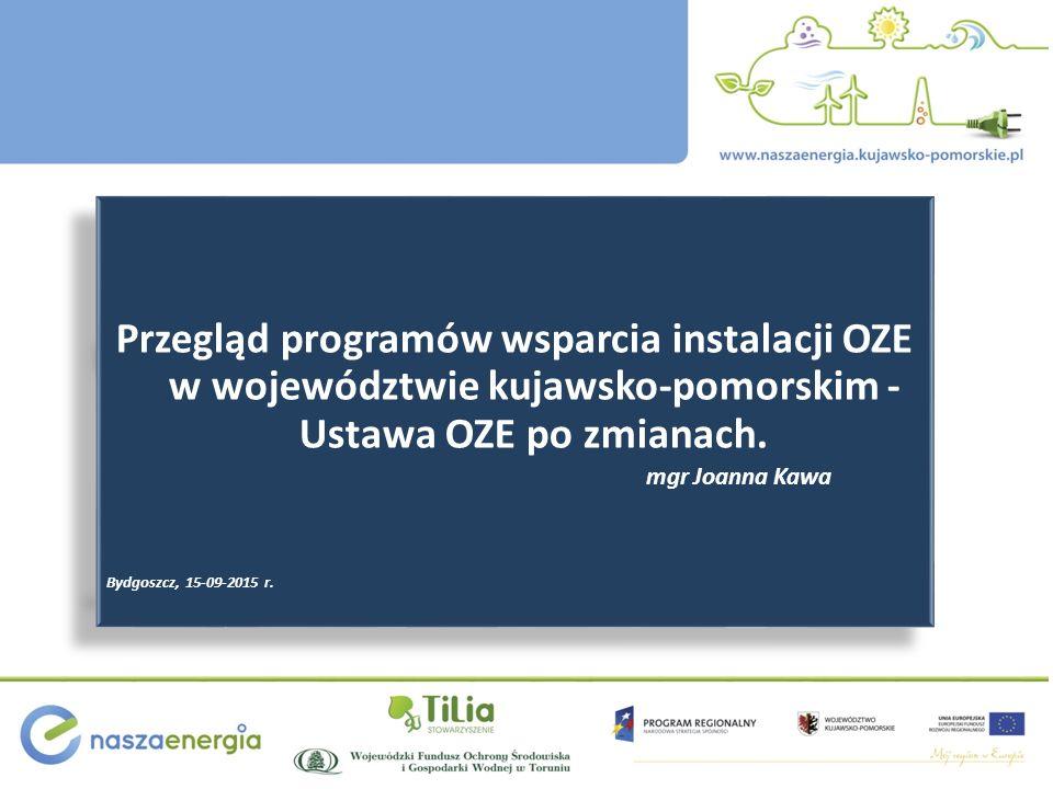 mgr Joanna Kawa Bydgoszcz, 15-09-2015 r.