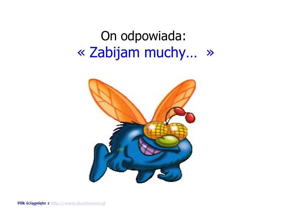 « Co robisz » Plik ściągnięto z http://www.duzohumoru.plhttp://www.duzohumoru.pl