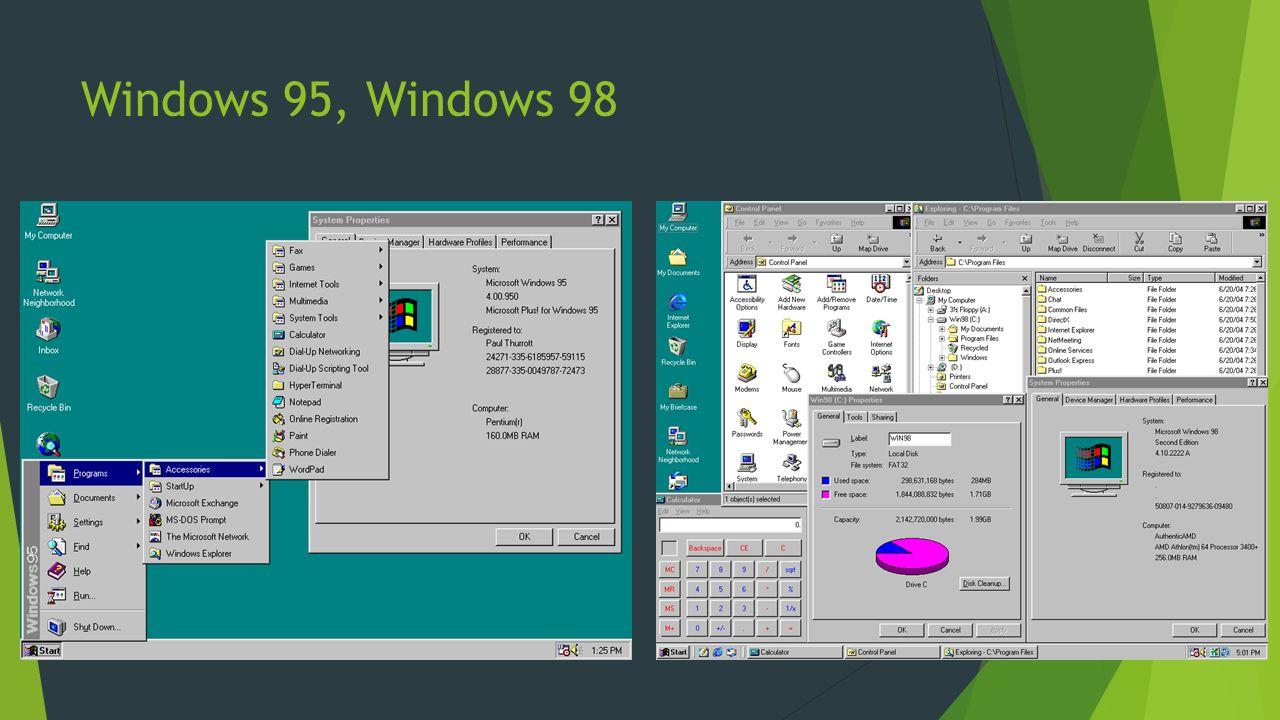 Windows Me, Windows XP