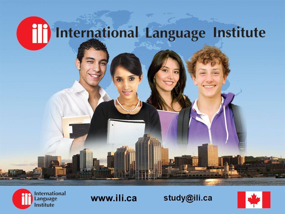 study@ili.ca www.ili.ca