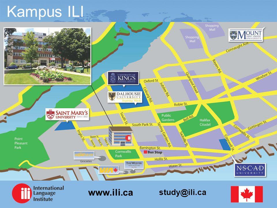 study@ili.ca www.ili.ca Referencje studentów Moi nauczyciele z ILI wykazali się wielką wiedzą i doświadczeniem.
