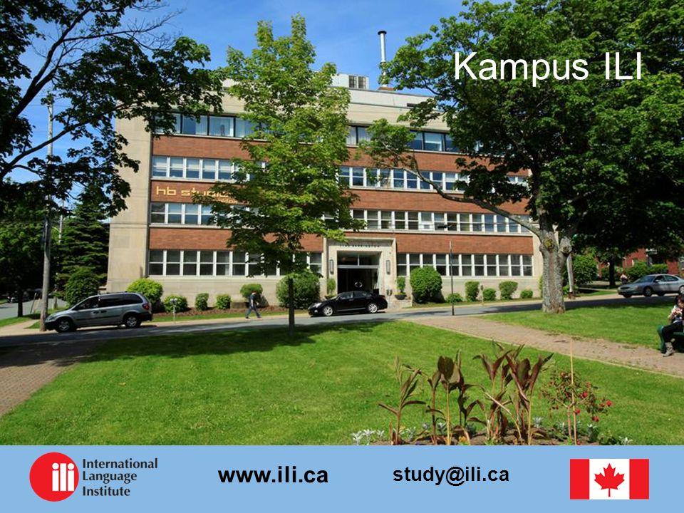 study@ili.ca www.ili.ca Kampus ILI