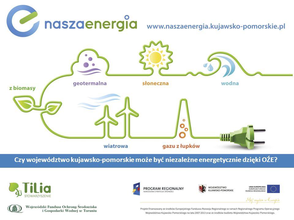Czy województwo kujawsko-pomorskie może być niezależne energetycznie dzięki OŹE?