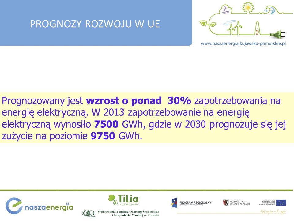 Prognozowany jest wzrost o ponad 30% zapotrzebowania na energię elektryczną.