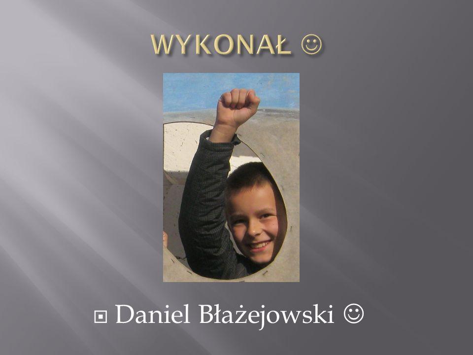  Daniel Błażejowski
